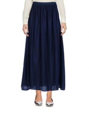 Длинная юбка ROSSOPURO. Цвет: темно-синий