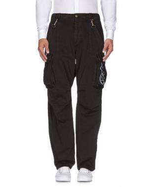 Повседневные брюки BAD SPIRIT. Цвет: темно-коричневый