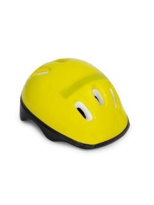 Шлем роликовый  Berry Start Up. Цвет: черный, белый, желтый