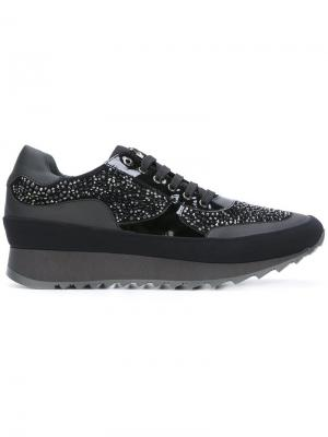 Embellished sneakers Loriblu. Цвет: чёрный