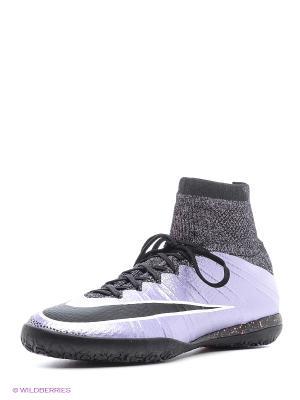 Кеды для зала MERCURIALX PROXIMO IC Nike. Цвет: фиолетовый