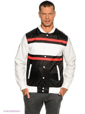 Куртка RD MVP M JCKT WBN0 DC Shoes. Цвет: белый, черный, красный
