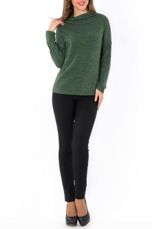 Джемпер S&A style. Цвет: зеленый