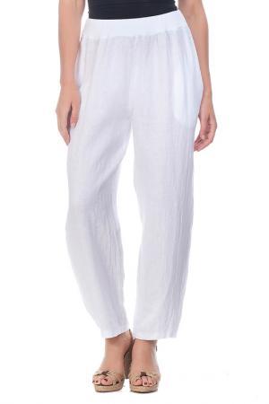 Pants LAURA MORETTI. Цвет: white
