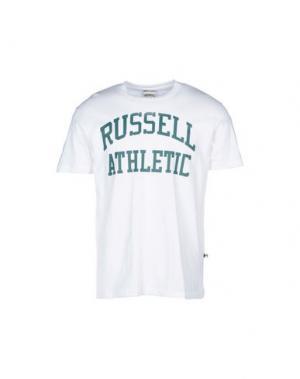 Футболка RUSSELL ATHLETIC. Цвет: белый