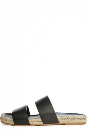 Шлепанцы Balenciaga. Цвет: черный