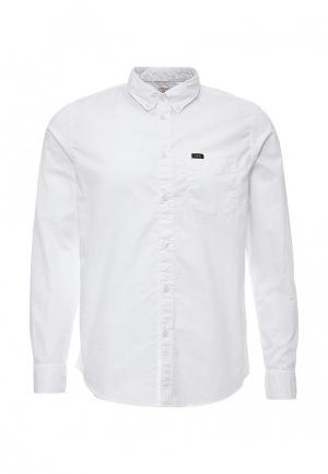 Рубашка Lee. Цвет: белый