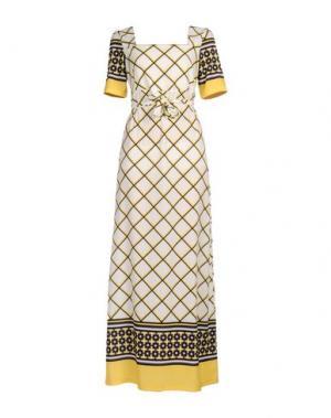 Длинное платье GIORGIA & JOHNS. Цвет: слоновая кость