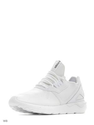 Кроссовки TUBULAR RUNNER  FTWWHT/FTWWHT/CBLACK Adidas. Цвет: белый