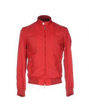 Куртка SSEINSE. Цвет: красный