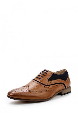 Туфли Galax. Цвет: коричневый