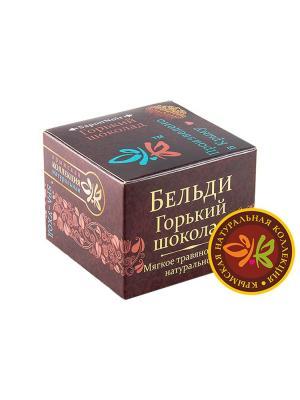 Мягкое .мыло БЕЛЬДИ Горький шоколад 120г Крымская Натуральная Коллекция. Цвет: белый