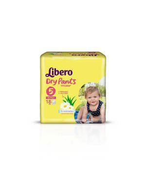 Libero Трусы детские одноразовые Драй Пэнтс макси плюс 10-14кг 18шт упаковка стандартная. Цвет: желтый