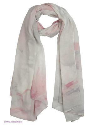 Платок Reserved. Цвет: бежевый, бледно-розовый