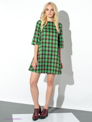 Платье Colambetta. Цвет: черный, зеленый