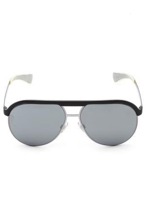 Очки солнцезащитные DOLCE & GABBANA. Цвет: черный