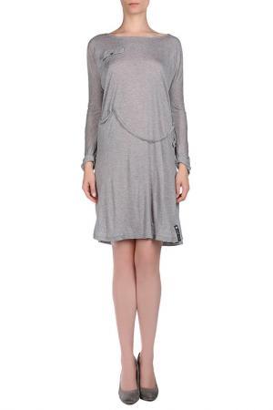 Платье VINTAGE 55. Цвет: серый