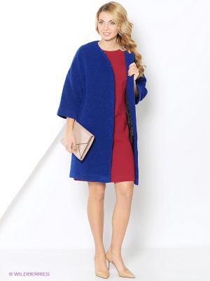 Пальто HELMIDGE. Цвет: синий