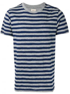 Striped T-shirt Bellerose. Цвет: синий