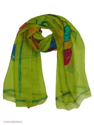 Платок TOSCA BLU. Цвет: зеленый