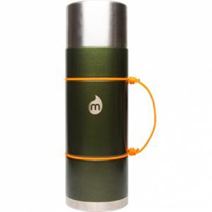 Термобутылка Для Воды MIZU. Цвет: army green hammer paint w/ le drip