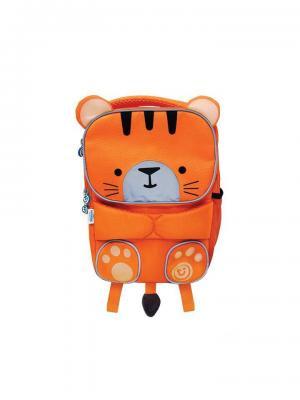 Рюкзак детский Toddlepak Тигренок TRUNKI. Цвет: оранжевый