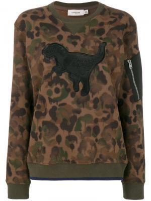 Толстовка Wild Beast Rexy Coach. Цвет: коричневый