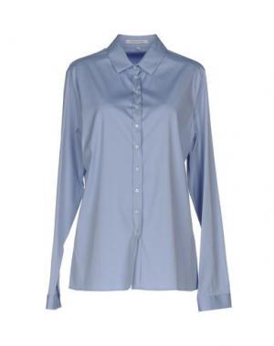 Pубашка WALTER VOULAZ. Цвет: небесно-голубой