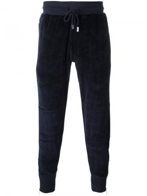 Спортивные брюки Vulcan Blood Brother. Цвет: синий