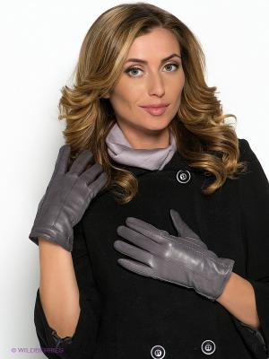 Перчатки Piero. Цвет: темно-серый