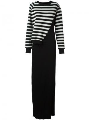 Платье Friday A.F.Vandevorst. Цвет: чёрный