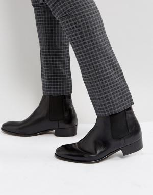 Hudson London Кожаные ботинки челси H Watts. Цвет: черный
