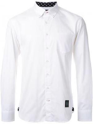 Рубашка с нагрудным карманом Guild Prime. Цвет: белый