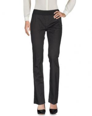 Повседневные брюки EUROPEAN CULTURE. Цвет: черный