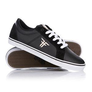 Кеды кроссовки низкие  Griffin Black/Khaki Fallen. Цвет: черный