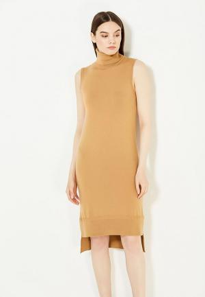 Платье Twin-Set Simona Barbieri. Цвет: коричневый