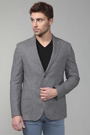 Пиджак Smalto. Цвет: серый