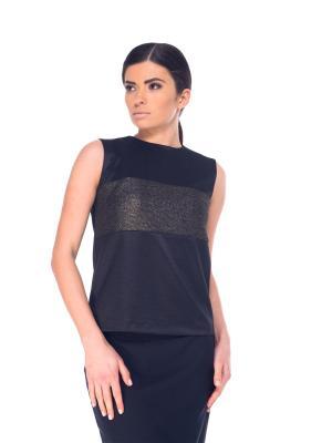 Блузка Arefeva. Цвет: черный