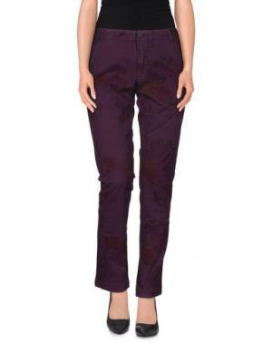 Повседневные брюки MACCHIA J. Цвет: розовато-лиловый