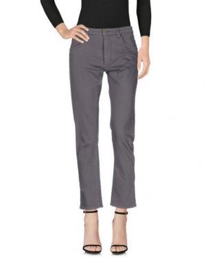 Джинсовые брюки SUPERFINE. Цвет: темно-фиолетовый