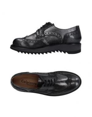 Обувь на шнурках CALPIERRE. Цвет: свинцово-серый