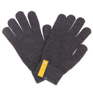Перчатки  Touchgloves Dark Grey TrueSpin. Цвет: серый