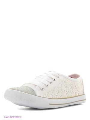 Ботинки KENKA. Цвет: белый