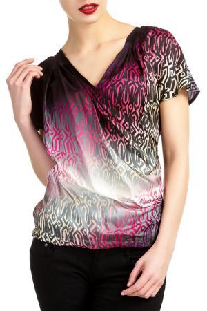 Блузка BLY BYBLOS. Цвет: multicolor