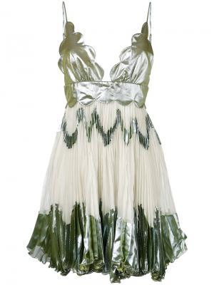 Платье Adi Maria Lucia Hohan. Цвет: белый