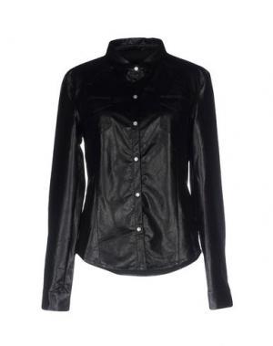 Pубашка TWELVE-T. Цвет: черный