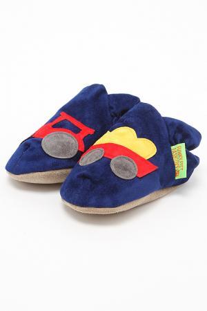 Туфли домашние Funky Feet Fashions™. Цвет: синий