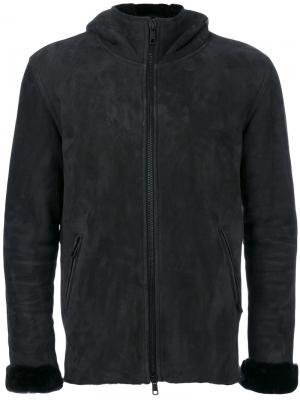 Куртка с капюшоном Giorgio Brato. Цвет: чёрный