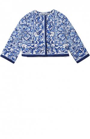Жакет Dolce & Gabbana. Цвет: синий