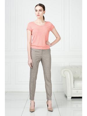 Блузка KEY FASHION. Цвет: бледно-розовый